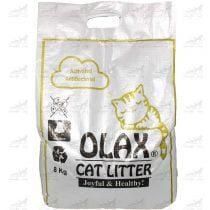 خاک-بستر-گربه-آنتی-باکتریال-برند-Olax
