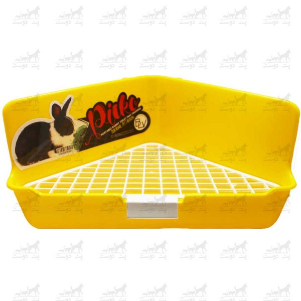 سینی-دستشویی-خرگوش-برند-Picko-زرد