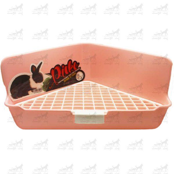 سینی-دستشویی-خرگوش-برند-Picko-صورتی