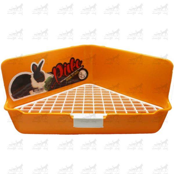 سینی-دستشویی-خرگوش-برند-Picko-نارنجی