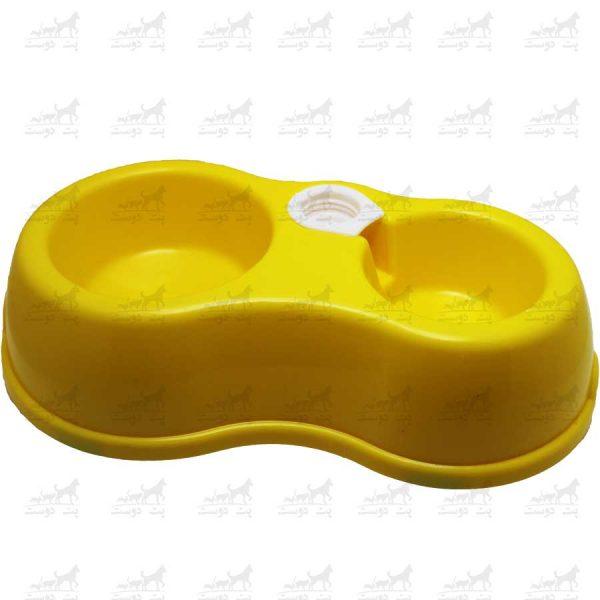 ظرف-دوقلو-مخزن-دار-دایره-ای-کد-1314---زرد