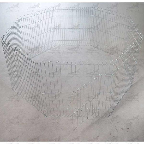 پارک-فلزی-سگ-سایز-60در60---8-ضلعی-کد-1321---2