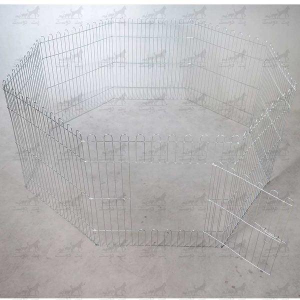 پارک-فلزی-سگ-سایز-60در60---8-ضلعی-کد-1321---3