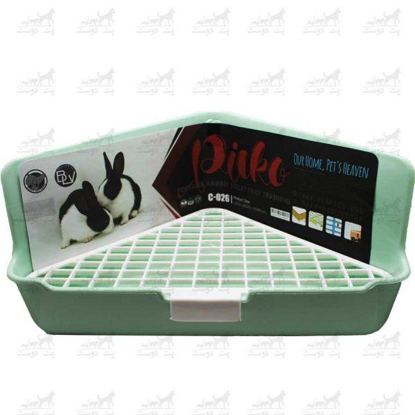 سینی-دستشویی-خرگوش-برند-Picko-سبز