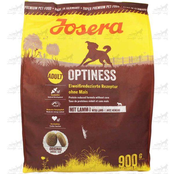غذای-خشک-سگ-بالغ-نژاد-متوسط-و-بزرگ-Optiness-حاوی-گوشت-بره-برند-Josera