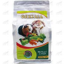پلت-پروبیوتیک-سبزیجات-جوندگان-حاوی-ویتامین-سی-برند-Oshkaia وزن 600 گ