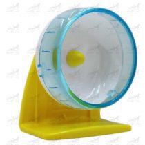 چرخ-و-فلک-همستر-پایه-دار-و-قابل-اتصال-به-بدنه-قفس-کد-358-برند-Carno-آبی