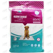 پد ادرار زیر انداز بهداشتی حیوانات خانگی سایز 90*60 برند Asoo Pad