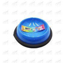 ظرف-آب-و-غذا-فلزی-با-پایه-لاستیکی-برند-Feredy-کوچک-آبی