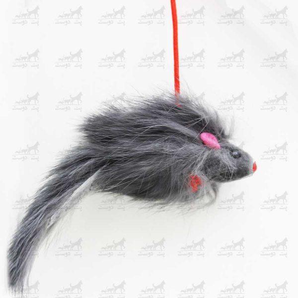 اسباب-بازی-مخصوص-گربه-مدل-موش-دسته-دار-کد-2312