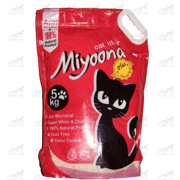 خاک-بستر-گربه-آنتنی-باکتریال-بنتونیت-برند-میونا-5کیلویی-جکسون