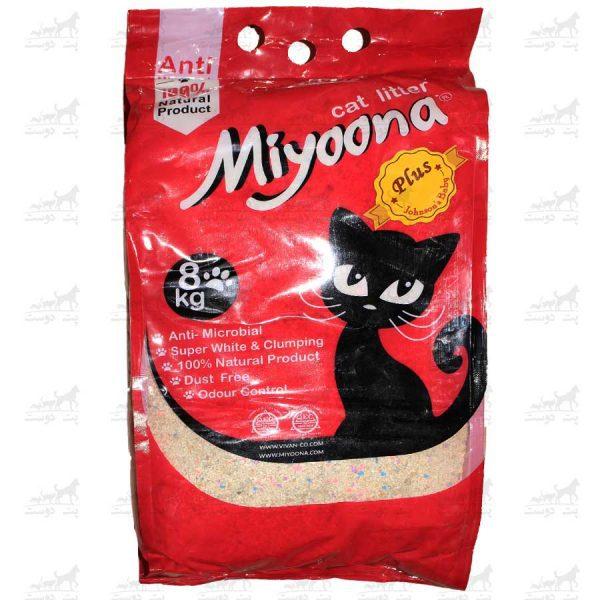 خاک-بستر-گربه-آنتنی-باکتریال-بنتونیت-برند-میونا-8کیلویی-جکسون