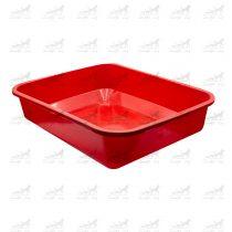 ظرف-خاک-گربه-به-همراه-بیلچه-کد-2411-قرمز2