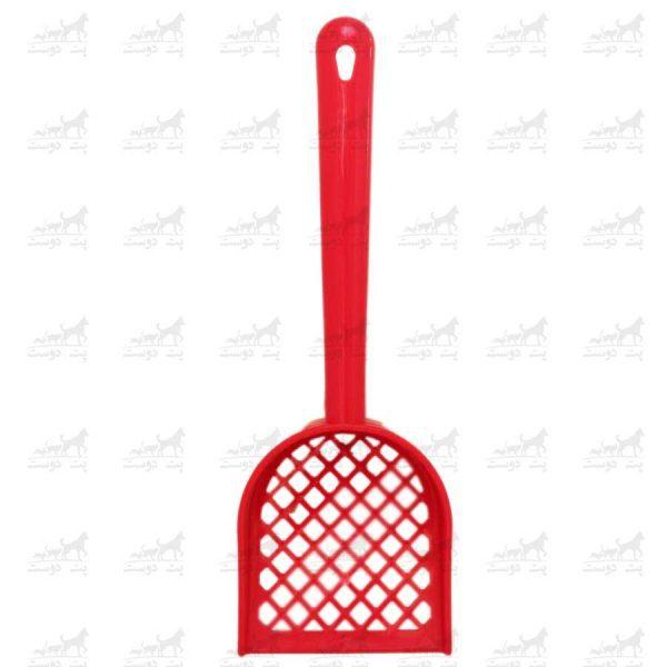 بیلچه-مخصوص-نظافت-حیوانات-خانگی-طرح-مایا-قرمز