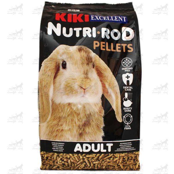 پلت-خرگوش-بالغ-مدل-Nutri-Rod-Pellets-برند-KIKI