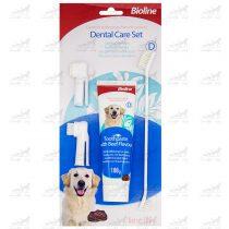 ست-مسواک-و-خمیردندان-سگ-برند-Bioline