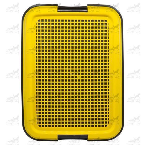 سینی-دستشویی-سگ-برند-هاچیکو-زرد