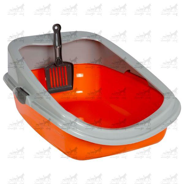 ظرف-خاک-لبه-درا-مدل-مشا-نارنجی