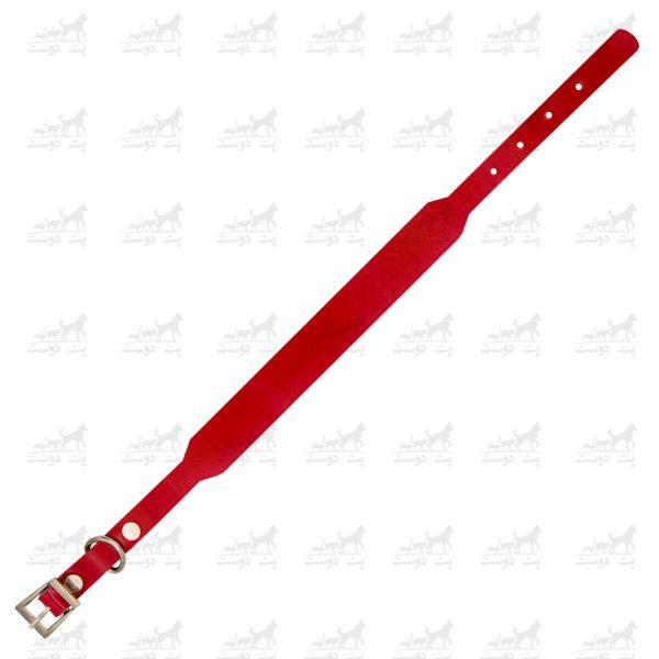 قلاده-گردنی-چرمی-مدل-جونیور-کد-1339-قرمز3