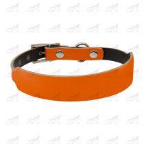 قلاده-گردنی-چرمی-مدل-جونیور-کد-1339-نارنجی