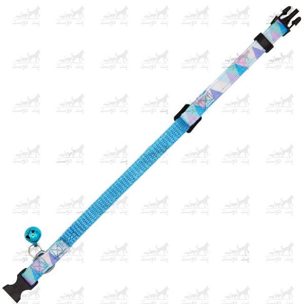 قلاده-گردنی-زنگوله-دار-برند-H2H-آبی