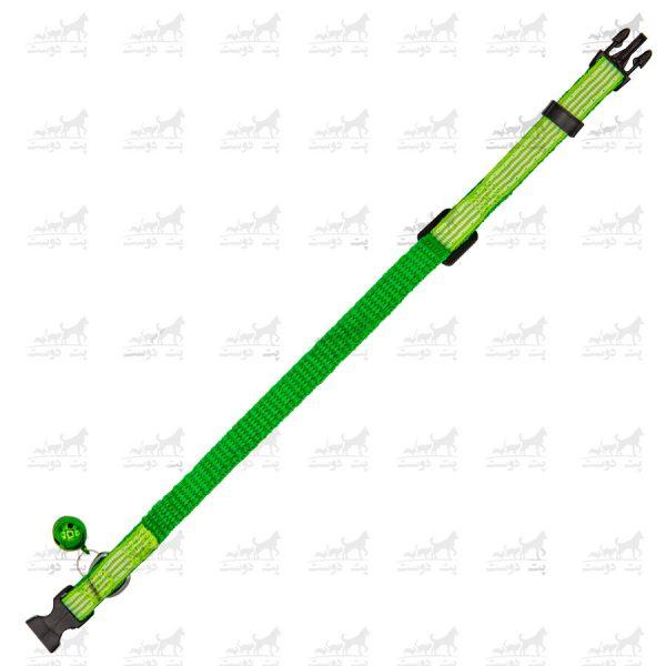 قلاده-گردنی-زنگوله-دار-برند-H2H-سبز