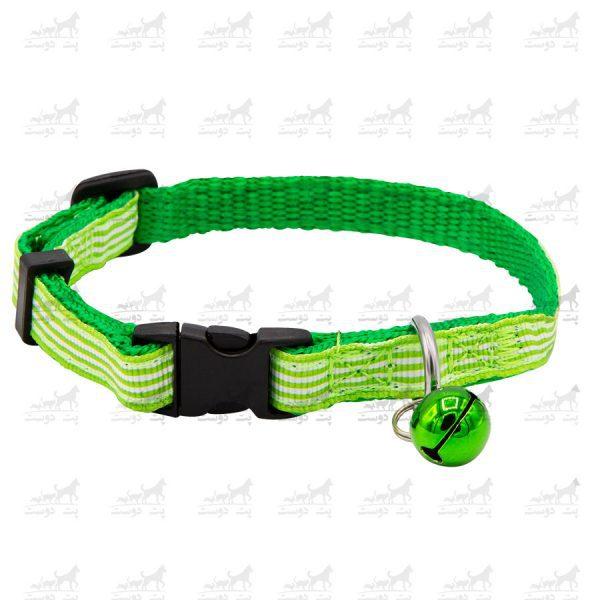 قلاده-گردنی-زنگوله-دار-برند-H2H-سبز3