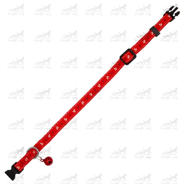 قلاده-گردنی-زنگوله-دار-برند-H2H-قرمز2