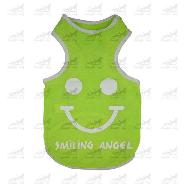 تیشرت-سگ-و-گربه-طرح-Smiling-Angel-11