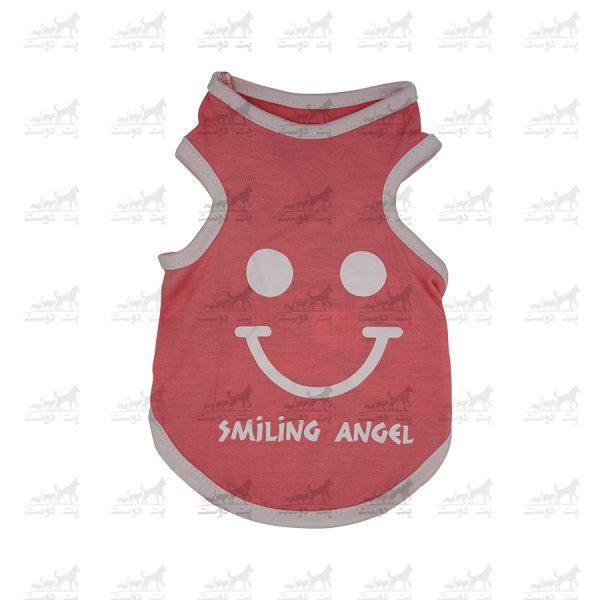 تیشرت-سگ-و-گربه-طرح-Smiling-Angel-13