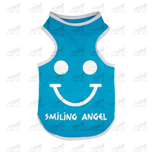تیشرت-سگ-و-گربه-طرح-Smiling-Angel-7