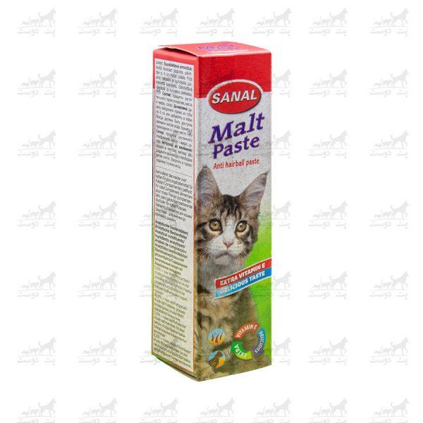 خمیر-مالت-ویتامینه-گربه-برند-Sanal-2