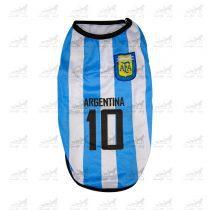 لباس-ورزشی-فوتبالی-سگ-کد1346-آرژانتین