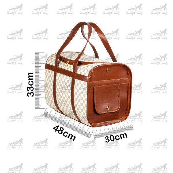 کیف-حمل-چرم-مخصوص-حیوانات-خانگی-کد1363-ابعاد