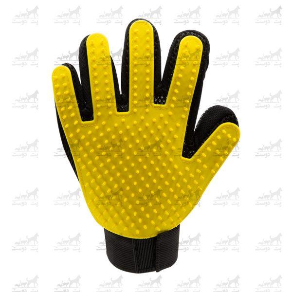 دستکش-مو-جمع-کن-کد-16416-زرد